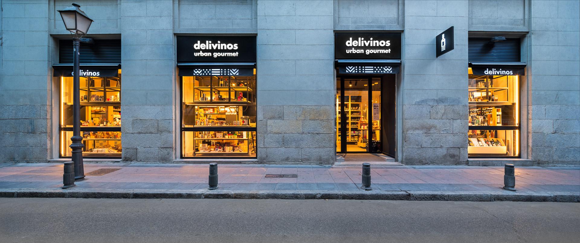 Nuestra tienda de vinos: delivinos urban gourmet, vinoteca en Madrid