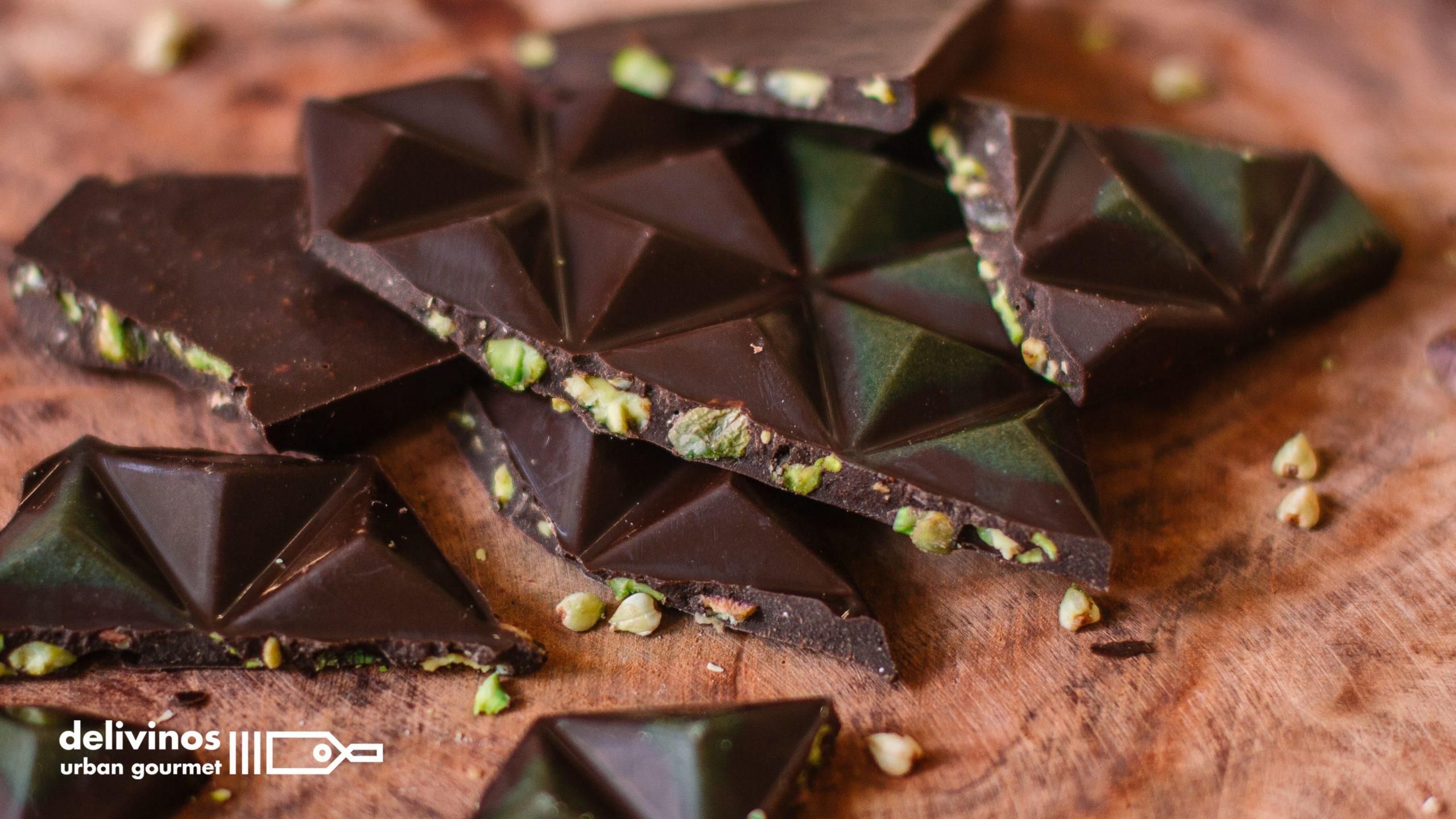 Los diferentes tipos de chocolates y combinaciones únicas